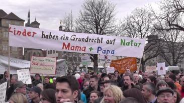 Homosexuellenhasser in Stuttgart
